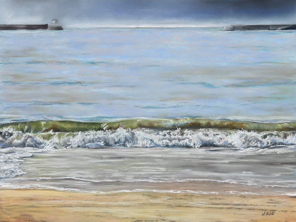 Sans titre, 2016 Pastel sur papier : 47x62 cm