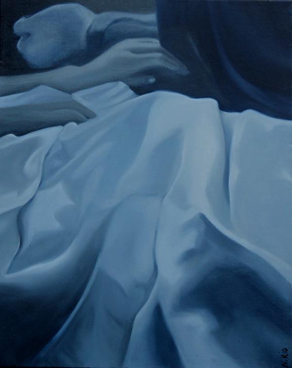 Sans titre, 2019              Huile sur toile : 41x32,5 cm