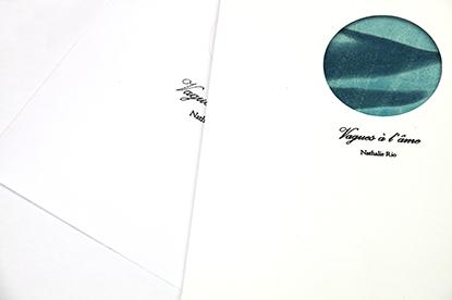 Vagues à l'âme, 2020 Pochette contenant 6 cyanotypes sur papier Fabriano 200 g/m2, format: 21x28 cm cm